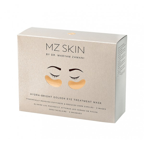 MZ Skin Hydra-Lift Golden Eye Treatment Mask X5