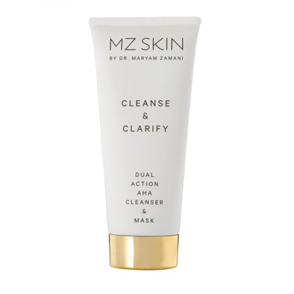 MZ Skin Cleanse & Clarify Dual Action AHA Cleanser & Mask - 100ml