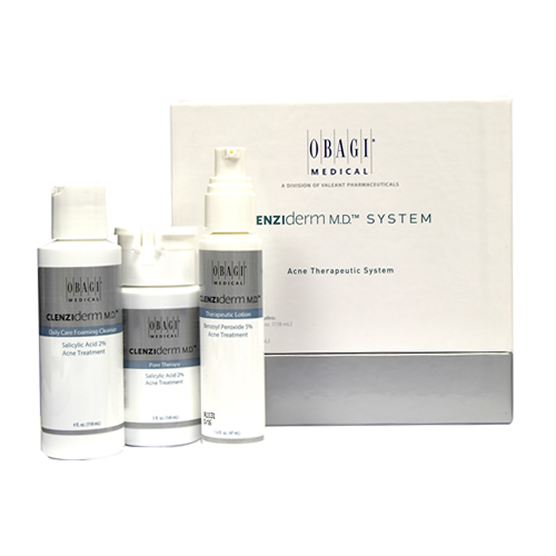 Obagi Clenziderm MD: Acne Therapeutic System for Normal to Oily Skin 118ml+ 148ml+ 47ml (Prescription Only)